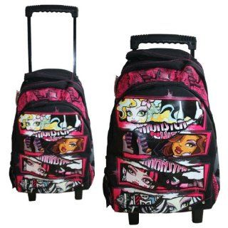 MONSTER HIGH   Trolley Rucksack Schultrolley 45x31x17cm: