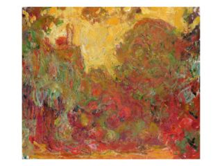 The House Seen from the Rose Garden, 1922 24 (Oil on Canvas) Giclee Print by Claude Monet