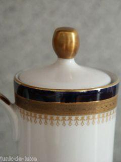 Winterling Scharffeuer Kaffeekanne echt kobalt   TOP