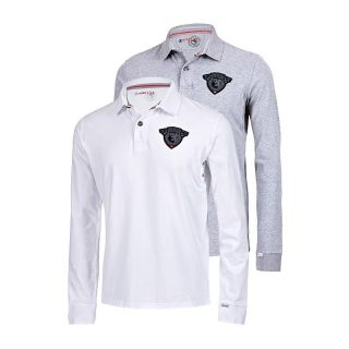 Poloshirt Langarm Longsleeve Polo Hemd Shirt UVP 139,95 € NEU