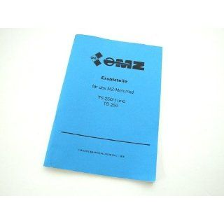 Ersatzteilkatalog MZ TS 250/1, TS250: Auto
