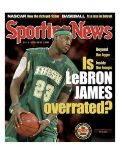 St. Vincent   St. Mary High School Fighting Irishs LeBron James   May 26, 2003 Photo