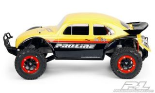Karosserie Volkswagen Baja Bug für Traxxas Slash 2 und 4WD Proline