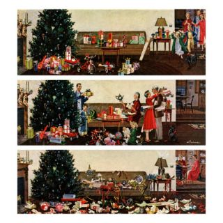 Christmas Morning, December 27, 1958 Giclee Print by Ben Kimberly Prins