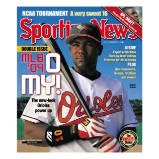 Baltimore Orioles 3B Miguel Tejada   March 29, 2004 Posters