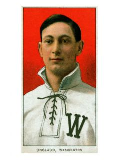 Washington D.C., Washington Nationals, Bob Unglaub, Baseball Card Poster