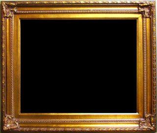 Bilderrahmen Barock Rahmen antik Stil gold ta142 90x120 f