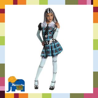 Kostüm Monster High Frankie Stein Karneval 116/128, 140/152