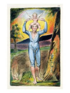 Frontispiece from Songs of Innocence and of Experience (Bentley Copy L) Pl.29 (Bentley28) 1789 94 Giclee Print by William Blake