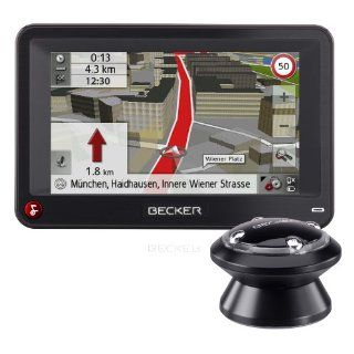 Becker Professional 43 Control inkl. TMC Pro (10,9 cm Display, Europa