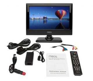 12volt 15 Digital Freeview TV+Portable DVD Player 12 V
