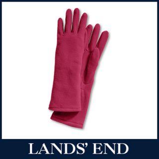 LANDS END Damen ThermaCheck Fleece Handschuhe *Sale*