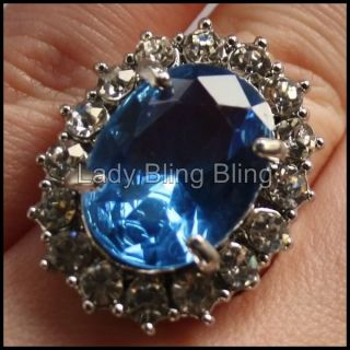 Ring Lady Diana Kate Middleton William Verlobungsring Silber