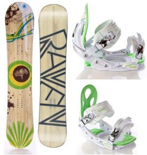 Raven SET BOARD JibMaster Pro 146cm + Bindung s350 White/Green/Blue