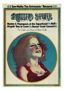 Bette Midler, Rolling Stone no. 128, February 1973 Photographic Print by Philip Hays