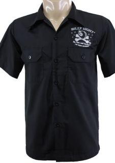 Size L / BOWLING SHIRT HEMD Totenkopf SKULL Kustom ROCKABILLY Camisa