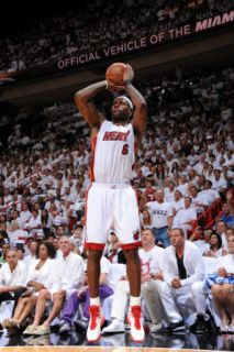 Dallas Mavericks v Miami Heat   Game One, Miami, FL   MAY 31: LeBron James Photographic Print by Andrew Bernstein