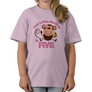 Little Monkey 1st Birthday Boy Infant T shirt