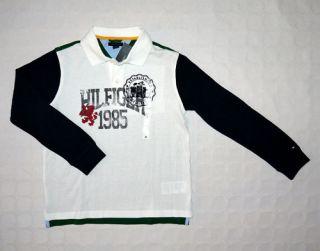 TOMMY HILFIGER Sweatshirt Poloshirt LA Shirt Gr158 NEU