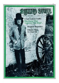 Stevie Winwood, Rolling Stone no. 32, May 1969 Photographic Print by David Dalton
