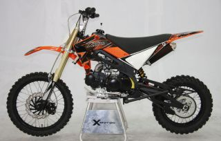CENKOO XB 33 125cc 17/14 Enduro Cross Dirt Bike Orange