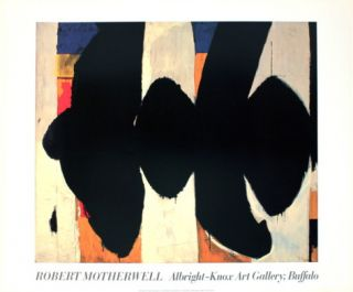Elegy to the Spanish Republic #34 Prints by Robert Motherwell
