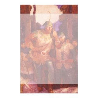 Robin Hood and the Men of Greenwood by NC Wyeth Stationery