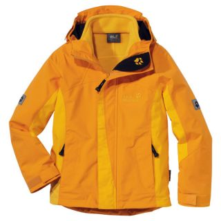 WOLFSKIN Girls Serpentine Jacket golden glow 152 3 in 1 Jacke Maedchen