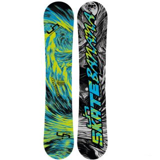 Skate Banana BTX Rocker Snowboard Green Blue (159 cm) Wide 2013