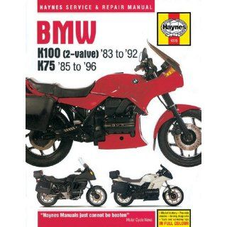 BMW K100(2 Valve)83 to 92 K7585 to 96 (Haynes Service & Repair Manuals