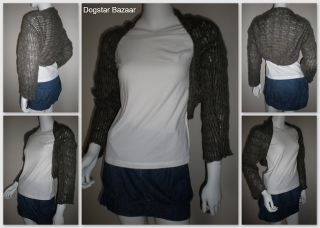JUST JEANS shrug cardigan ONE SIZE boho ♥ Ladies knit ♥