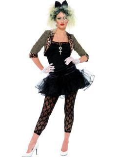 Kostüm Damen 80er Jahre Wild Child Faschingskostüm Größe M