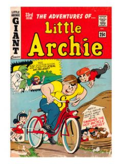 Archie Comics Retro Little Archie Comic Book Cover #33 (Aged) Prints by Bob Bolling