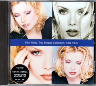 CD [Album] Kim Wilde The Singles Collection 1981   1993, NEU*
