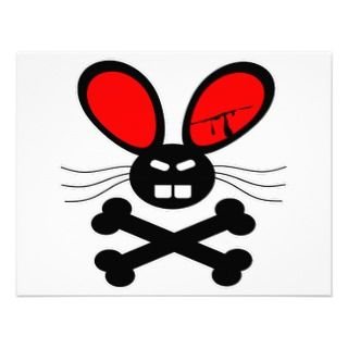Killer Rabbit Cartoon Announcement