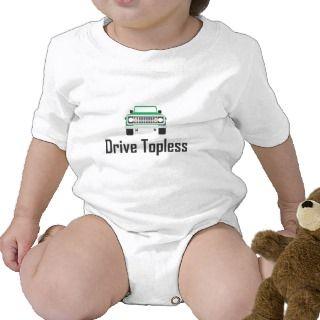 drive topless comando tee shirts
