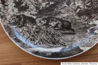 Art A 465) Jagdteller Wie man Wildschweine mit. V. Uhlenhorst