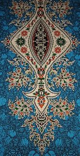 TÜRKIS ETHNO TUNIKA KAFTAN KLEID 48 50 52 Hippie Vintage Abaya Dress
