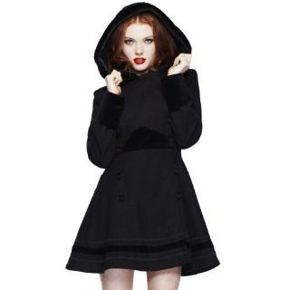Hell Bunny Kurzmantel SARAH JANE COAT black black XL