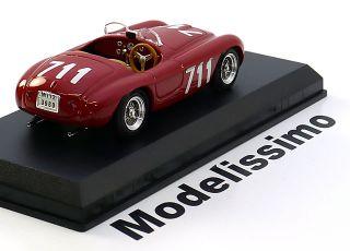 43 Art Model Ferrari 166 MM #711 Mille Miglia 1950