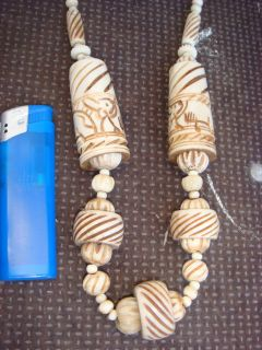 / Tibet Knochen Elefant Buddha Bone Mala 166 Teile