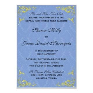 Wedding Invitations, 242 Catholic Wedding Announcements & Invites