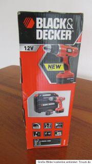BLACK&DECKER EPC126BK Akku Bohrschrauber NEU OVP 5J. Garantie