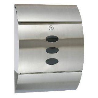 Designer Briefkasten aus Edelstahl rostfrei (117): Baumarkt