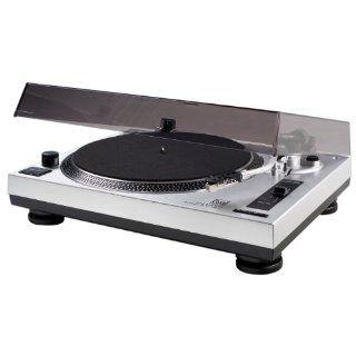 Dual DTJ 301 USB DJ Plattenspieler (33/45 U/min, Pitch Control, Magnet