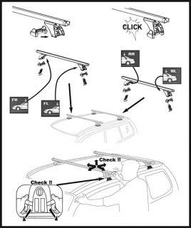 Dachträger AURILIS ORIGINAL Peugeot 106 (5 Türer) 91 03 Citroen Saxo