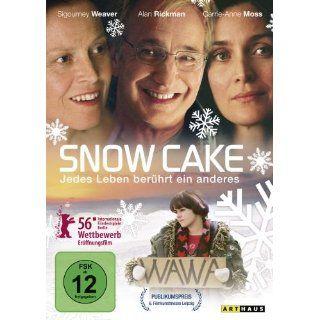 Snow Cake Alan Rickman, Sigourney Weaver, Carrie Anne Moss