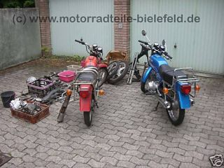 Honda CB CB125 CM 125 TWIN 185 200 CM200 C T Auspuff RE