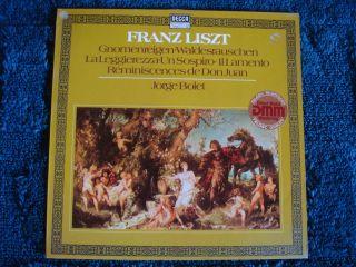 JORGE BOLET Franz Liszt LP Konzertetüden Etudes de Concert LP DECCA