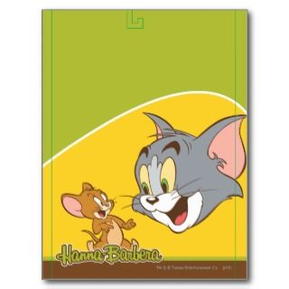 Tom And Jerry Postcards